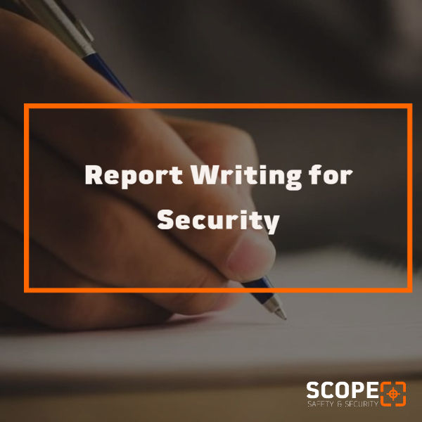 Report Writing for Security
