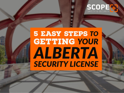 How To Get Your Security License - A step by step guide