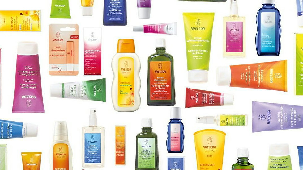 Weleda Products £45