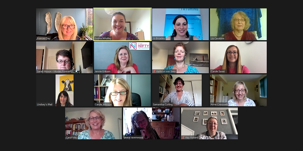 Nationwide Morning Online Networking Meeting