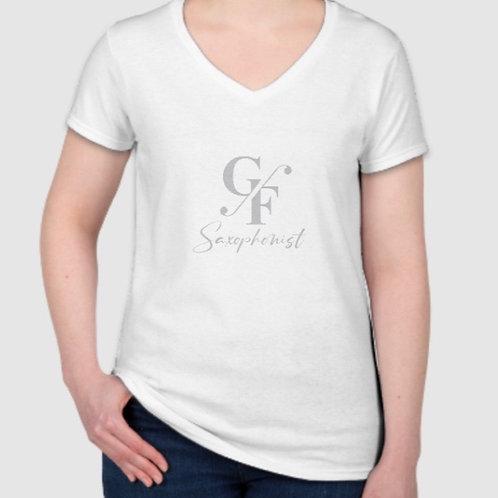 Ladies Logo T-Shirt- White