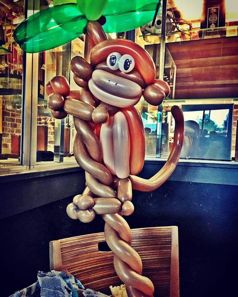Monkey Cincinnati Balloon Twisting