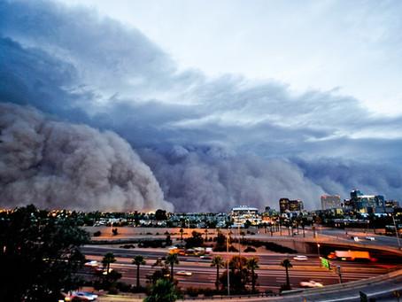 Monsoons + Dust = ?