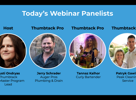 Thumbtack Panel Webinar - Navigating COVID19