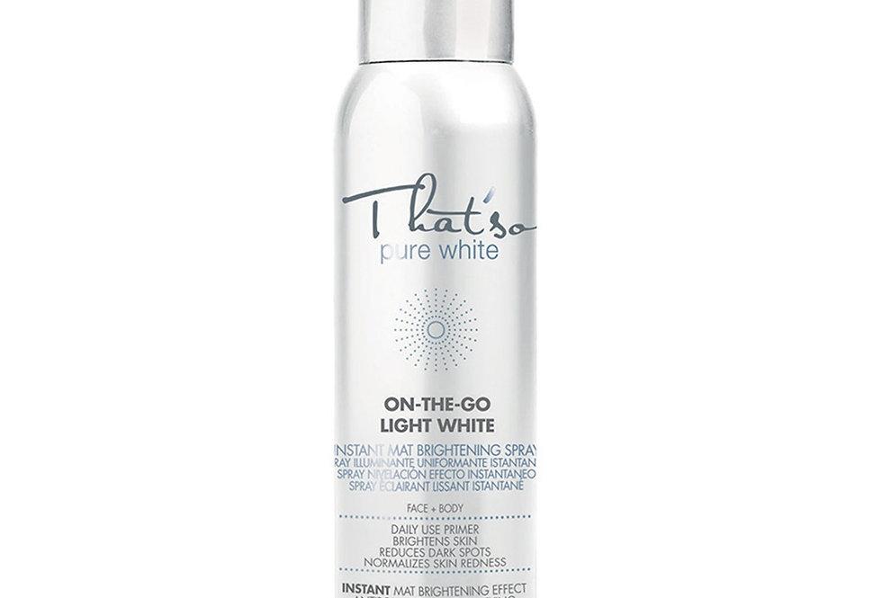 Spray iluminador de piel italiano - Thatso