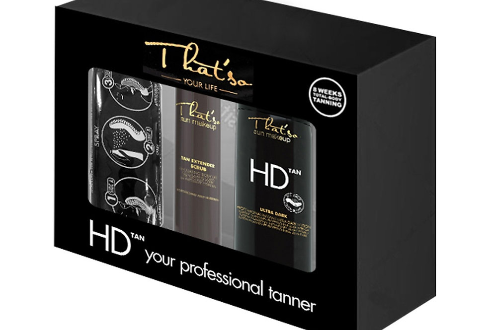 Kit De Autobronceado profesional italiano - HD Tan Kit - Thatso