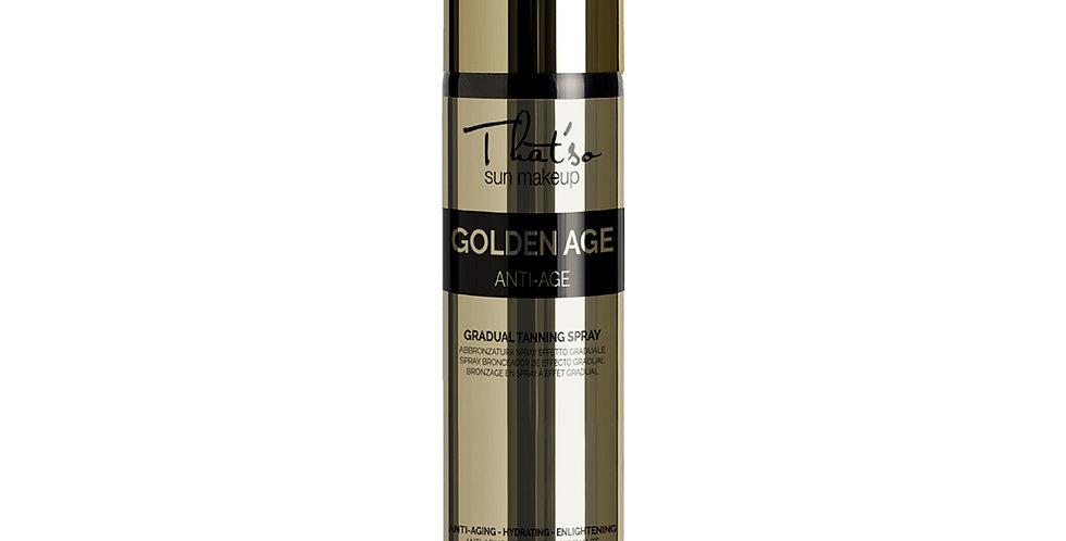 Autobronceador italiano Hidratante - Golden Age - Thatso