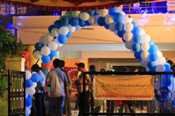 We lit up BLUE during Fun Fete 2014