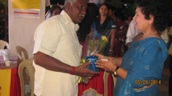 Interactions with our Chief guest