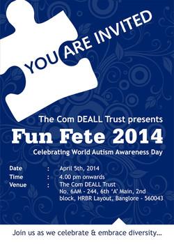 Invite by Com DEALL for Fun fete 14
