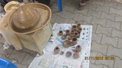 Fun filled pottery making