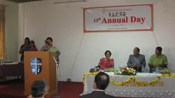 Ms Nirupama Srikanth at the podium