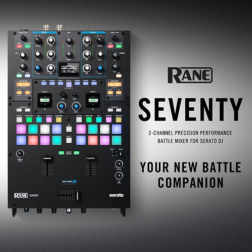 Pre-order Rane Seventy (Free Pair of Serato Records with Purchase)
