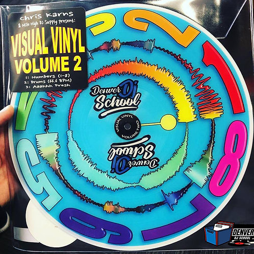 Chris Karns Visual Vinyl Vol. 2 Denver DJ School Edition