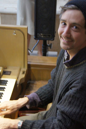 Organist David Wills-Ehlers