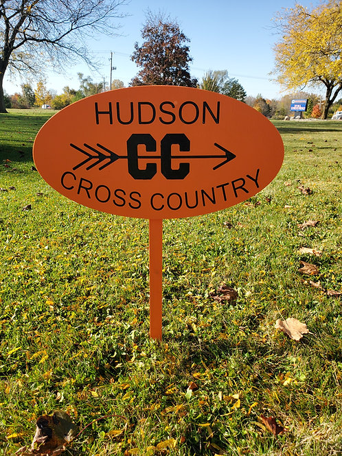 Hudson Cross Country Yard Sign-Painted