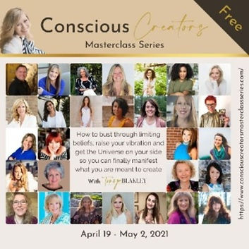 Join the free Conscious Creators Masterclass Series