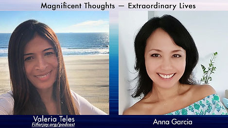 Anna Garcia features as a guest on the Fit for Joy podcast by Valeria Teles