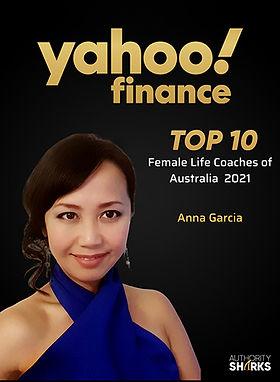 Yahoo Finance Anna Garcia is listed as a top 10 female coach in Australia in 2021