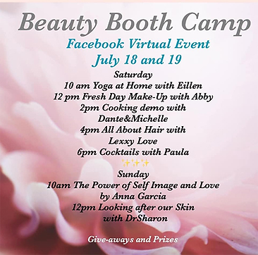 Anna Garcia is a guest speaker on the Beauty Booth Camp