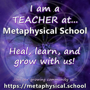 Anna is a faculty teacher a metaphysical school