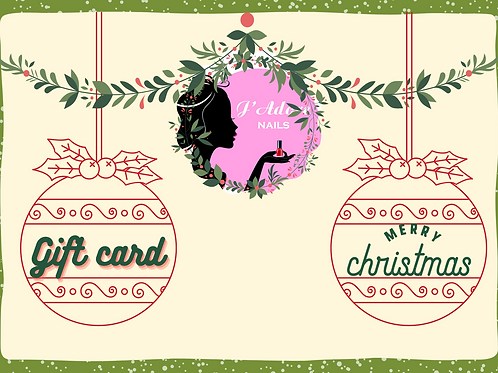 Gift Card:Online store