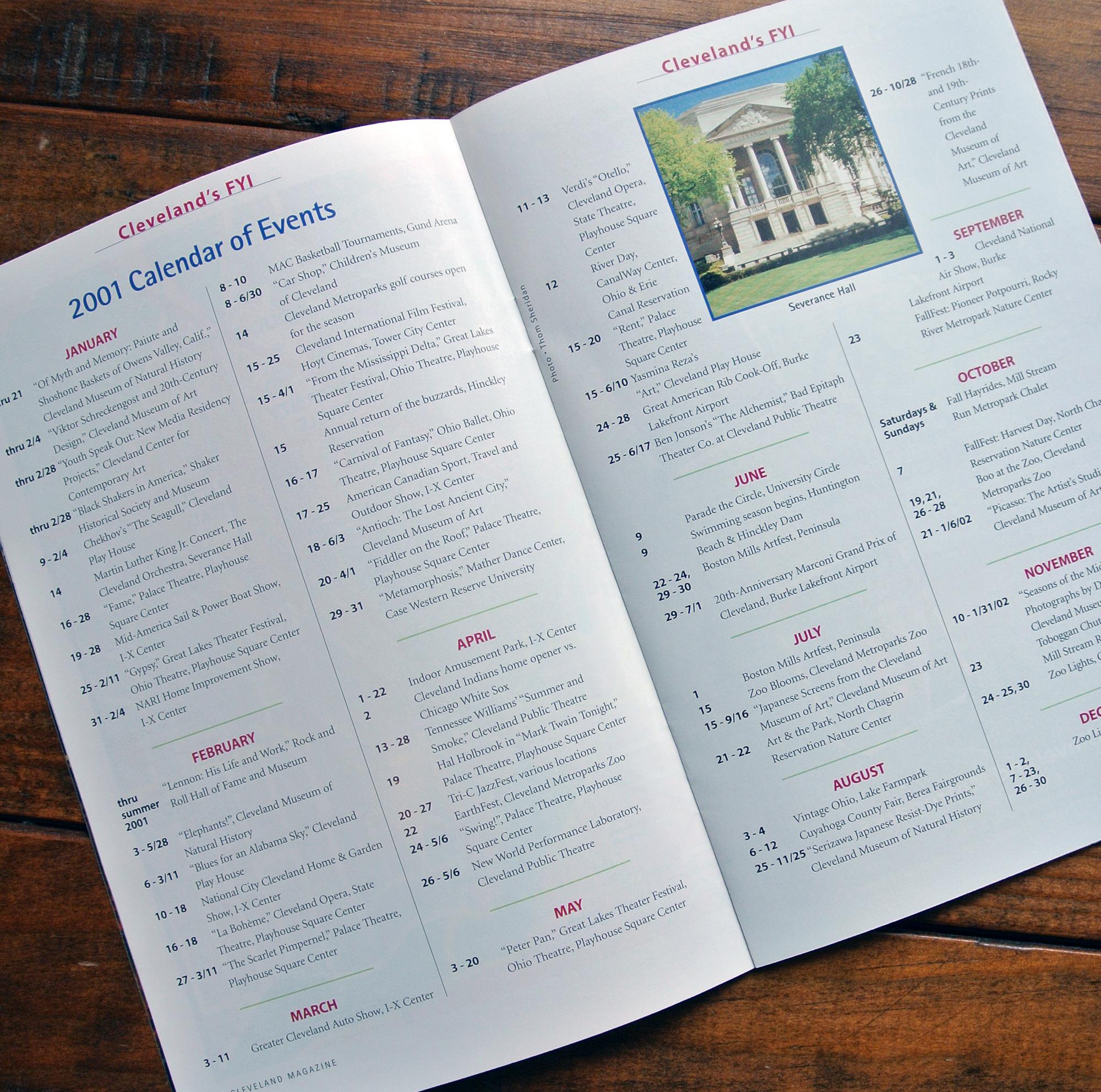Cleveland City Guide Interior