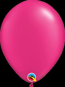 Pearl Magenta Qualatex Balloons