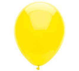 Bright Yellow New Looks Balloons
