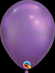 Chrome Purple Qualatex Balloons