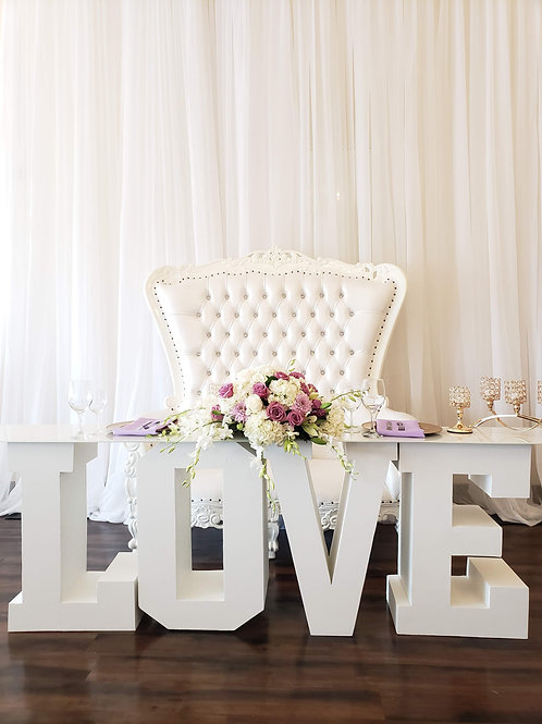 Royal Throne Loveseat
