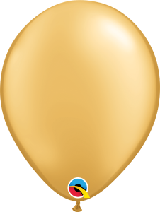 Gold Qualatex Balloons