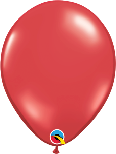 Ruby Red Qualatex Balloons