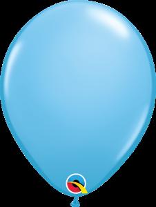 Baby Blue Qualatex Balloons