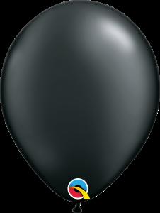 Pearl Onyx Black Qualatex Balloons