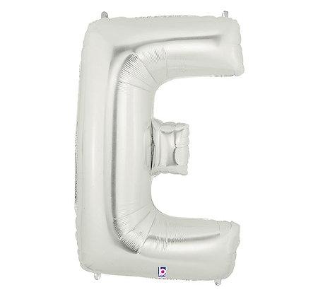 Letter E Mylar Balloon