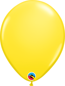 Yellow Qualatex Balloons