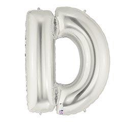 Letter D Mylar Balloon