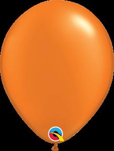 Pearl Mandarin Orange Qualatex Balloons
