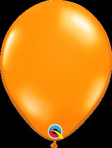 Mandarin Orange Qualatex Balloons