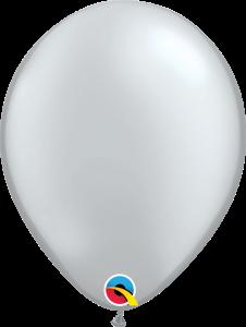Silver Qualatex Balloons