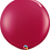Thumbnail: Sparkling Burgundy Qualatex Balloons