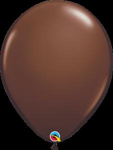 Chocolate Brown Qualatex Balloons