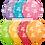 Thumbnail: Happy Birthday Around Print Qualatex Balloons