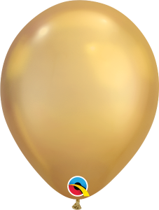 Chrome Gold Qualatex Balloons