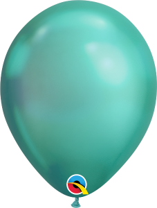 Chrome Green Qualatex Balloons