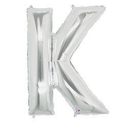 Letter K Mylar Balloon