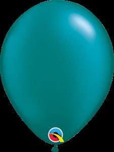 Pearl Teal Qualatex Balloons
