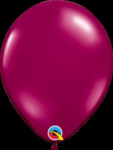 Pearl Burgundy Qualatex Balloons