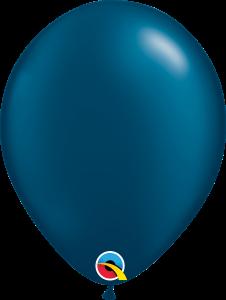Pearl Midnight Blue Qualatex Balloons